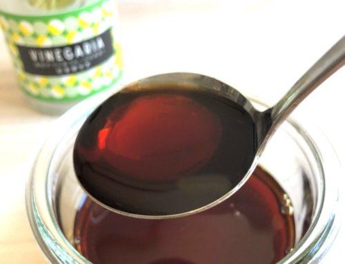 【VINEGARIAアレンジ】フルーツビネガーと醤油でポン酢を作ってみた